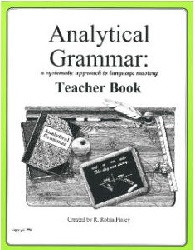 Analytical Grammar High School Teacher's Book