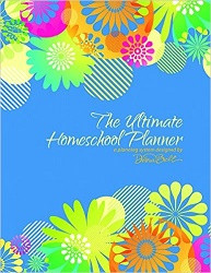 Ultimate Homeschool Planner (Blue)