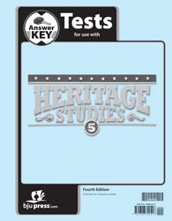 Heritage Studies 5 Test Key 4th Edition