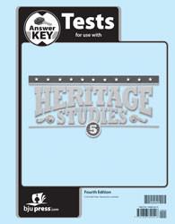 Heritage Studies 5 Test Key 4th Edition