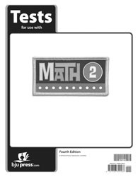 Math 2 Tests 4th Edition