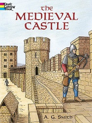 Medieval Castle Coloring Book