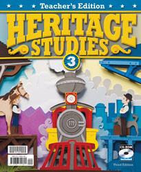 Heritage Studies 3 Teacher's Manual w/ CD