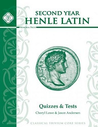 Henle Latin 2nd Year Quizzes and Tests