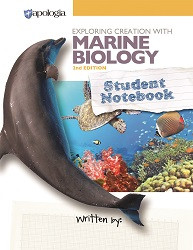 Apologia Exploring Creation with Marine Biology Notebook 2nd Edition