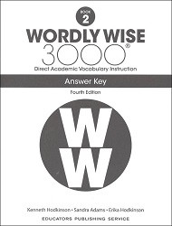 Wordly Wise 3000 Grade 2 Key 4th Edition