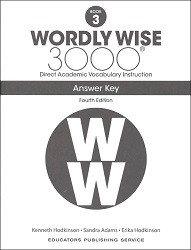 Wordly Wise 3000 Grade 3 Key 4th Edition