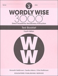 Wordly Wise 3000 Grade 3 Tests 4th Edition