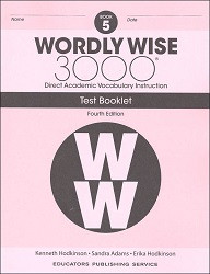 Wordly Wise 3000 Grade 5 Tests 4th Edition