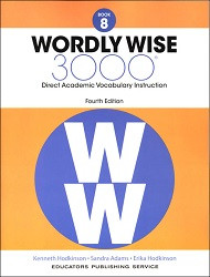 Wordly Wise 3000 Grade 8 4th Edition