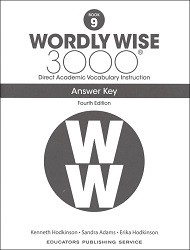 Wordly Wise 3000 Grade 9 Key 4th Edition