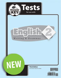 English 2 Test Answer Key (3rd Ed.)