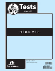 Economics Test Answer Key (3rd Ed)
