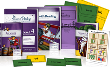 All About Reading Level 4 Materials  Colorized Version