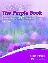 3rd Edition - 5th Grade - Learning Language Arts Purple Book