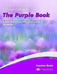 3rd Edition - 5th Grade - Learning Language Arts Purple Book