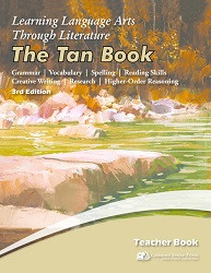 3rd Edition - 6th Grade - Learning Language Arts Tan Book
