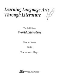 Learning Language Arts Through Literature - World Literature Notes & Tests