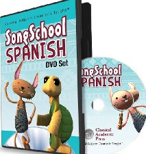 Song School Spanish DVD