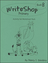 WriteShop  Primary  Book B  Activity Pack