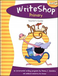 WriteShop  Primary  Book C  Teacher's Guide