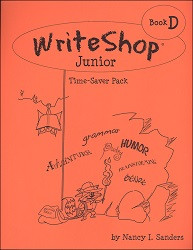 WriteShop Junior Book D  Time Saver Pack