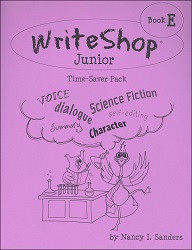 WriteShop Junior Book E  Time Saver Pack