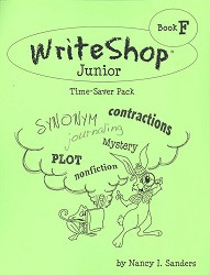 WriteShop Junior Book F  Time Saver Pack