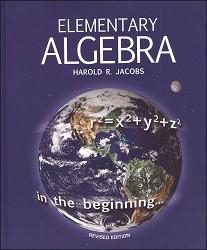 Jacob's Elementary Algebra  Student Text