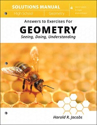Jacob's Geometry Solutions Manual