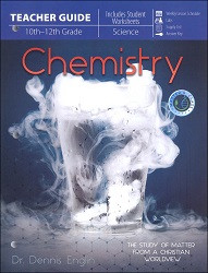 Chemistry  The Study of Matter From a Christian Worldview  Teacher