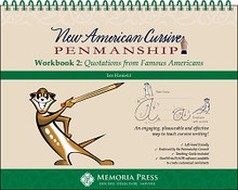New American Cursive 2: Quotations from Famous Americans
