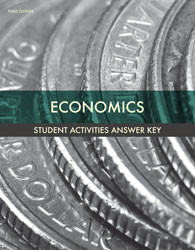 Economics Activity Manual Answer Key (3rd ed.)
