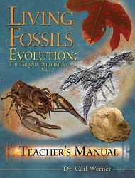 50% Off Sale - Living Fossils Teacher's Manual