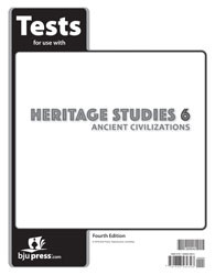 Heritage Studies Grade 6 Tests 4th Edition