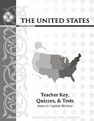 Geography - The United States Teacher Key, Quizzes & Tests