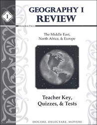 Geography 1 Review Teacher Key, Quizzes ,& Tests