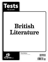 British Literature Tests - 3rd Edition