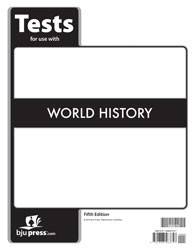 World  History Tests  5th Edition