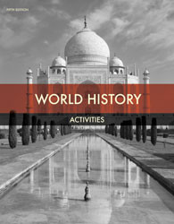 World  History  Student Activities  5th Edition