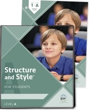 Structure and Style for Students: Year 1 Level A Binder/Packet