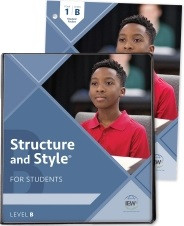 Structure and Style for Students: Year 1 Level B Binder/Packet