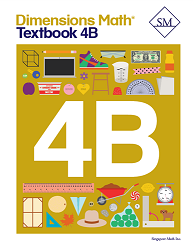 Grade 4 - Dimensions Math Textbook 4B