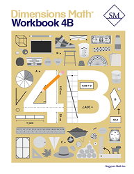 Grade 4 - Dimensions Math Workbook 4B