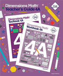 Grade 4 - Dimensions Math Teacher's Guide 4A