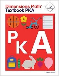 Dimensions    Math    Pre-K A Textbook
