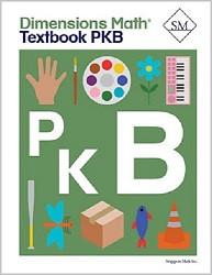 Dimensions  Math  Pre-K B Textbook