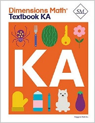 Dimensions  Math Kindergarten A Textbook