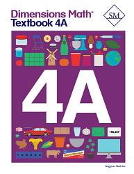 Dimensions Math  4A Textbook