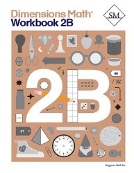 Dimensions Math  2B Workbook